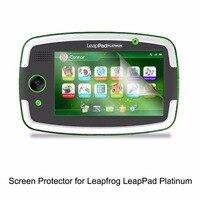 Şeffaf LCD PET Film Anti Scratch/Anti kabarcık/Dokunmatik Duyarlı Ekran Koruyucu LeapFrog LeapPad Platinum aksesuarları|protector floor|protector tabletfilm wrapping -