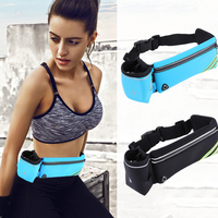 Universal Running Waist Belt Armband Bottle Water Pouch Outdoor Sports Phones Bag Case Waterproof Earphone Keys Arm Bags