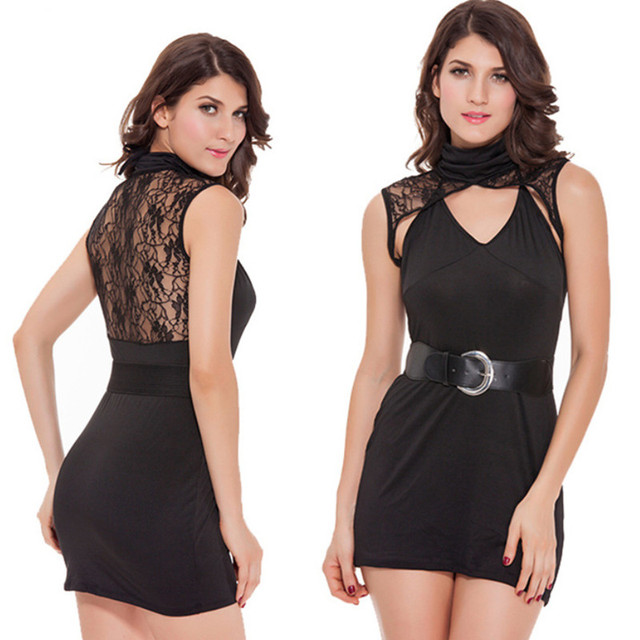 Sexy ladies in short dresses