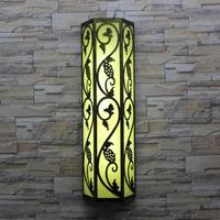 Ретро крыльцо свет водонепроницаемый садового освещения двора светодиодное наружное освещение для коридора настенный светильник ворота T5