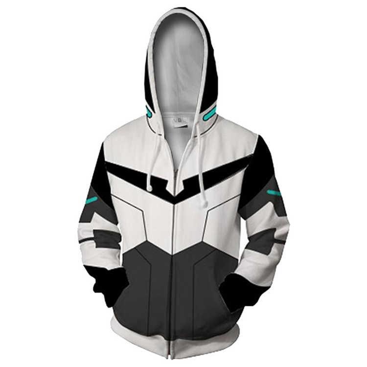 50e1c5f773e BTS 3D Voltron  Defender of the Universe Zippper Hoodies Sweatshirts Men  Maneuver Long Sleeve Casual