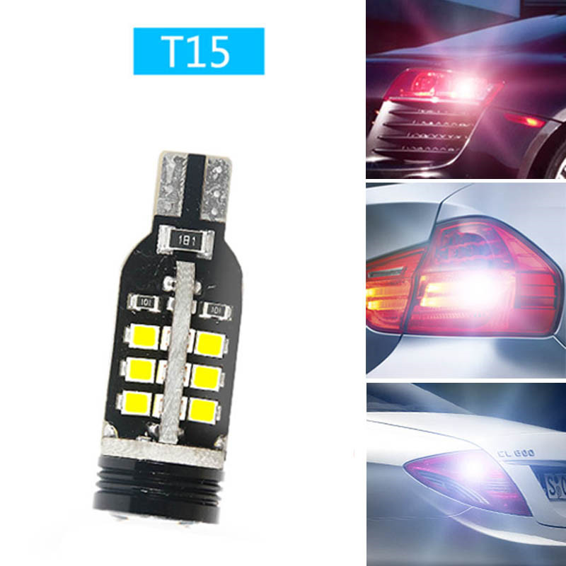 Ownsun Error Free T15 Socket 360 Degrees Projector Lens LED Backup Reverse light R5 Chips Replacement Bulb For Kia Sorento