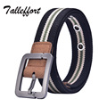 2016 Hot NOS Men Canvas Outdoor Belt Military Equipment Cinturon Western Strap Men's Belts Luxury For Men