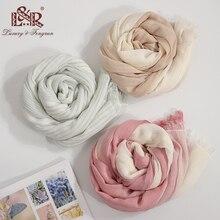 цены 2019 Luxury Spring Cotton Women Scarf Patchwork Line Scarves Women Shawls And Wraps Foulard Femme Bandana Scarf Female Hijab