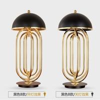 modern table lamps for living room Restaurant bedroom lighting Aluminum lamp cover LED floor lamp E14 AC90V 260V