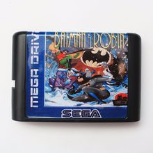 The Adventure Of Batman & Robin 16 bit SEGA MD Game Card For Sega Mega Drive For Genesis(China)