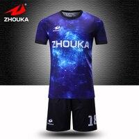 Custom Uniform Football Team's Jersey Football Training Suit Soccer Tracksuit Personalize Shirts Futbol Free Print Logo Number