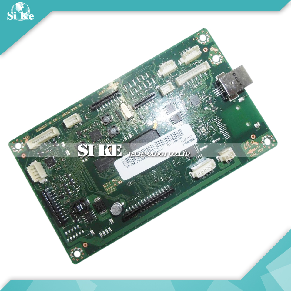 Laser Printer Main Board For Samsung SCX-3405F SCX3405F SCX 3405F 3405 Formatter Board Mainboard Logic Board for samsung mlt d101 chip 101 laser printer ml 2160 2165 2168 scx 3400 3405 3402 cartridge resetter toner chips