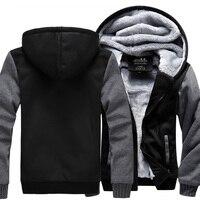 High Quality Men Thicken Hoodie Women Anime Zipper Coat Jacket Sweatshirt Cosplay Costume Plus Size