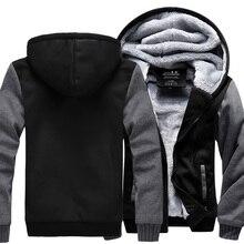 Wholesale Price American Footballer Customize Men Thicken Hoodie Women Anime Zipper Coat Jacket Cosplay Costume Plus Size