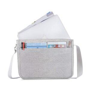 Image 3 - MOSISO Large Capacity Laptop Shoulder Bag 11 12 13 14 15 15.6 inch Waterproof Notebook Bag for MacBook/Dell/HP/Lenovo/Acer/Asus