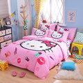 UNIKIDS Cute cartoon duvet cover set  bedding set for Kids boy or girls Twin size  KT015