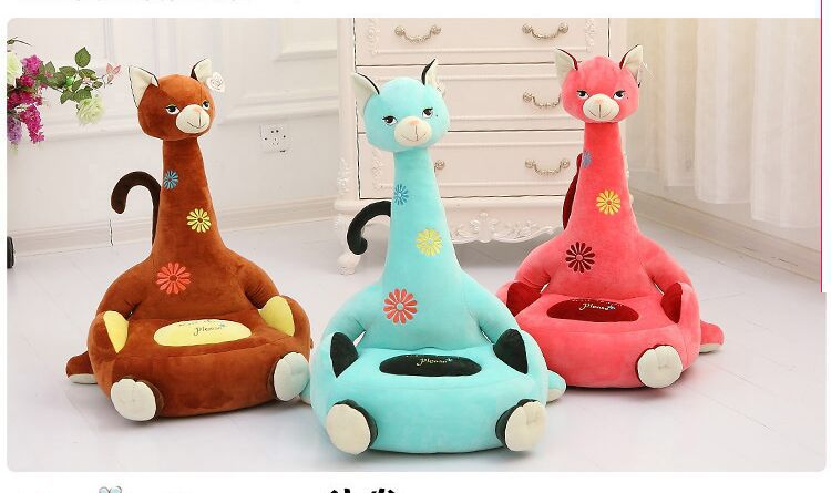 about 70x45cm cartoon cat design plush toy cat sofa tatami plush toy sofa floor seat cushion for children, birthday gift t5425 6pcs plants vs zombies plush toys 30cm plush game toy for children birthday gift