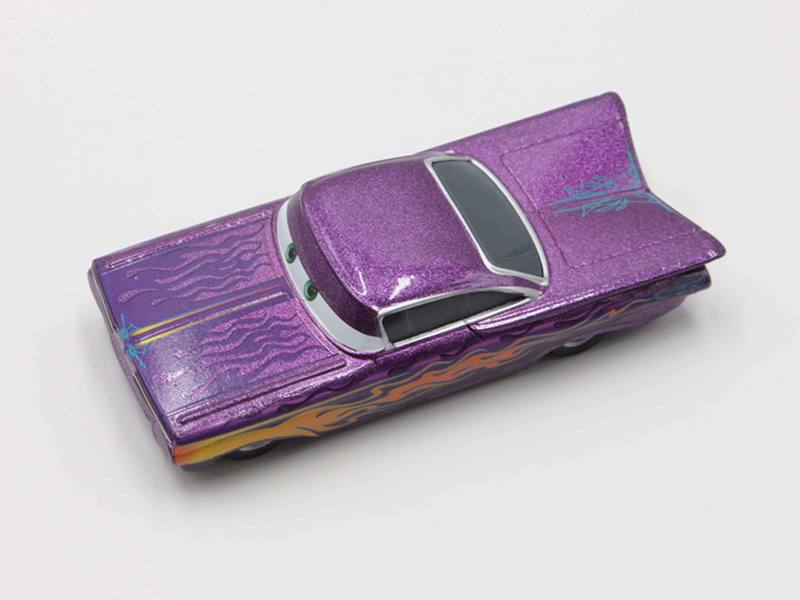 Disney Car Figures Mini Metal Action Figure Model Toys Purple Racing Car Alloy Model Toy for Childrens Christmas Gift