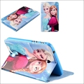 Fashion children cartoon Cases cover For Samsung Galaxy Tab3 7.0 T210 P3200 Tablet Silicon pu leather case