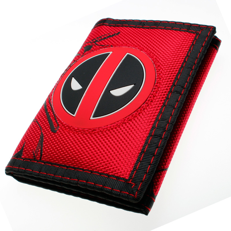 Deadpool  Wallet Trifold Nylon Wallet DFT-7002