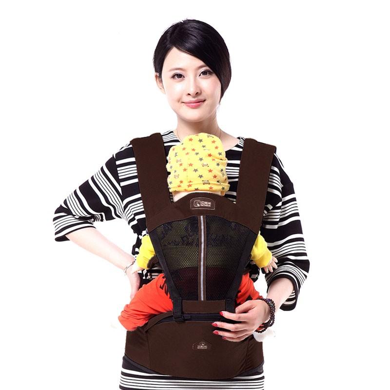 Best Selling Cotton Baby Carrier Hip Seat Anti-Skip Top Children Sling Kids Backpack High Grade Suspenders