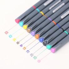 60 pcs/Lot 0.38mm micron nib Fine line drawing gel pen for manga sketch liner Scrapbooking Stationery school supplies FB954