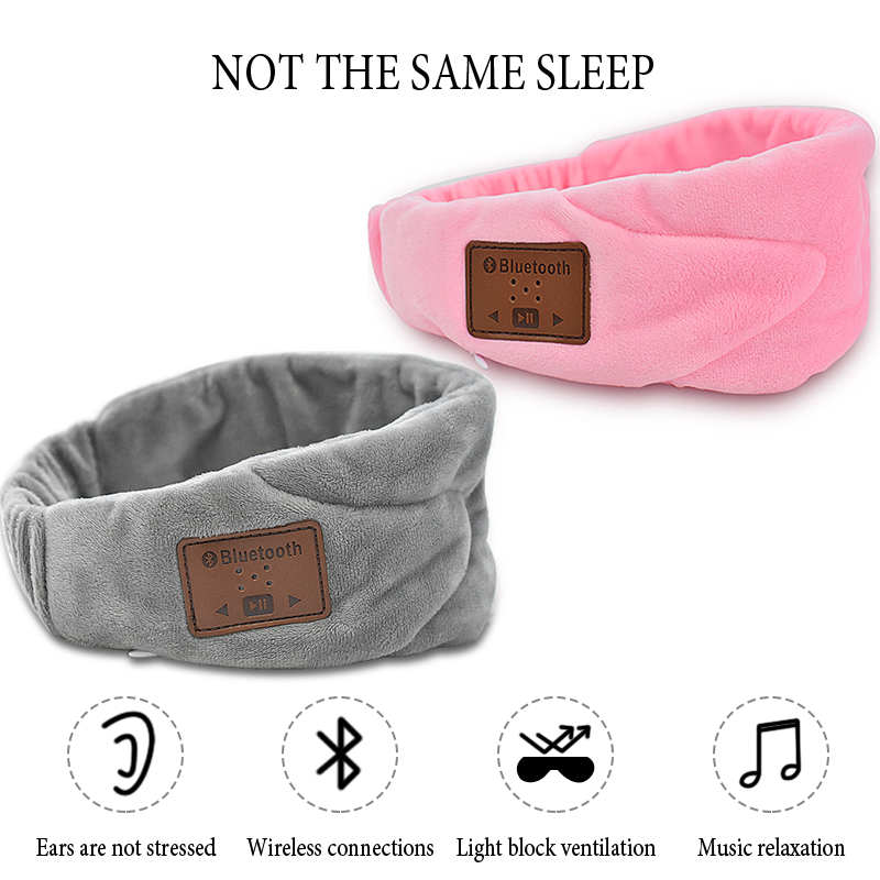 купить Ultra-Soft Music Sleep Eye Mask Outdoor Travel Sleeping Aid Blindfold Cover Light Sponge Eyeshade Night Sleep EyePatch Bandage недорого