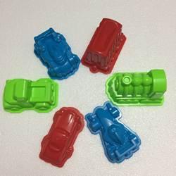 6 шт. автомобиль костюм питания играет песок Формочки космический играет песок автомобиль форм пляж головоломки Kit игрушки