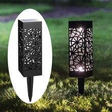 Solar Lights for Garden Decoration Solar Power Light Outdoor Led Path  Lawn Lamp Christmas Backyard Insert Ground Sun Powered все цены