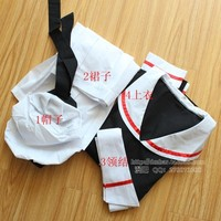Full Set Cardcaptor Sakura Card Captor Sakura School Uniform Anime Cosplay Costume With Hat Customized Any