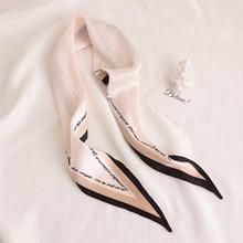 luxury brand bags SCARF womens silk scarf fashion lady square scarves soft shawls Foulard Femme Elegant Womens Head Scarf