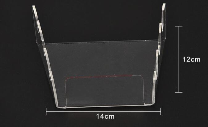 Купить с кэшбэком Acrylic Knife Holder Fully Transparent Dagger Tool Holder Plexiglass Kitchen Display Holder Custom