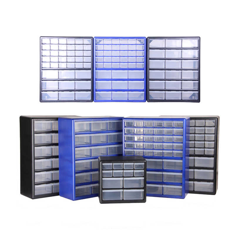 Tool Case Tool Box Parts Box Classification of Ark Multi-grid Drawer Type Component Toolbox Screw Classification Component Box