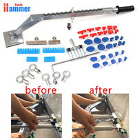 Super dent puller kit car dent repair tools glue tabs slide hammer tips accessory
