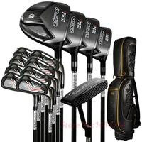 PGM Supreme Complete Golf Club Set with bag 13clubs Titanium For Men Driver+2Woods+Hybird+8Irons+Putter+Stand Bag +Head Covers