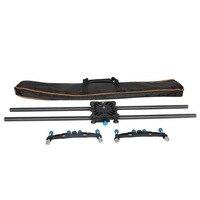 YELANGU Carbon Fiber Portable Camera Track Slider L80T Camera Video Slider Rail Track Dolly Slider Stabilizer