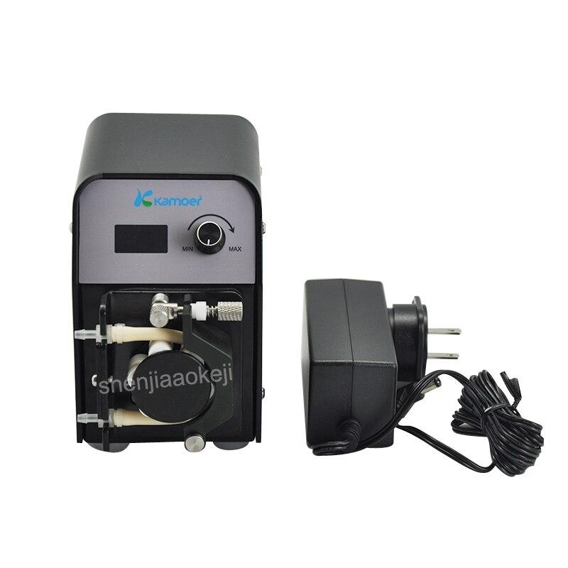 Laboratorio FX-STP Pompa autoadescante Micro Pompa Peristaltica Intelligente MUTE Automatico Piccolo Liquido Pompa 220 v 20 w 1 pzLaboratorio FX-STP Pompa autoadescante Micro Pompa Peristaltica Intelligente MUTE Automatico Piccolo Liquido Pompa 220 v 20 w 1 pz