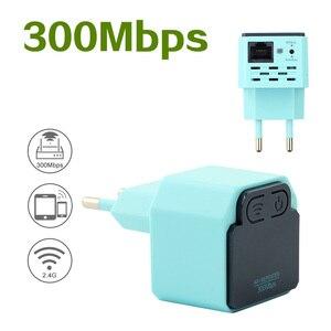 Image 3 - ワイヤレス無線 Lan リピータ 300 150mbps の 802.11n アクセスポイントの信号ブースター無線 Lan エクステンダー 2.4 グラム Wi Fi のアンプ Wi Fi Reapeter