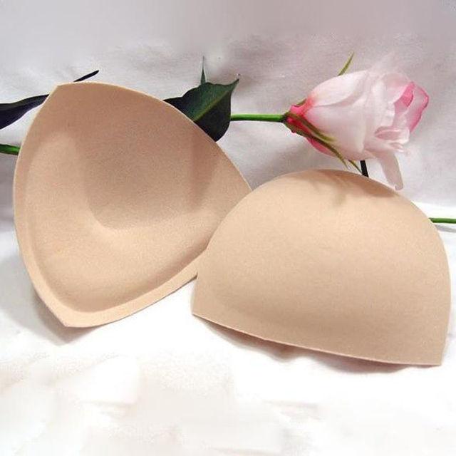 2 ADET Ekleme Push Up Incrassation Çıkarılabilir Artırıcı sutyen yastıkları Mayo Bikini