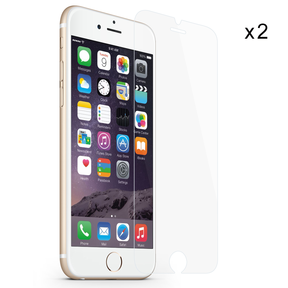 2pcs for iPhone 7 screen protector for iPhone X 8 7 6s plus 6 5 5s 5c se tempered glass case friendly bubble free accessaries