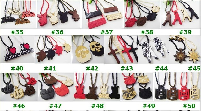 Free Shipping  2012 Newest Good Wood Wooden   good wood jewelry chain   necklace Astronaut   Pendant  (10PCS/Lot)