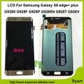 1 peça Azul cinza ouro branco novo teste lcd screen display com tela de toque para samsung galaxy s6 edge + plus g928f g928p g928r4 G928T