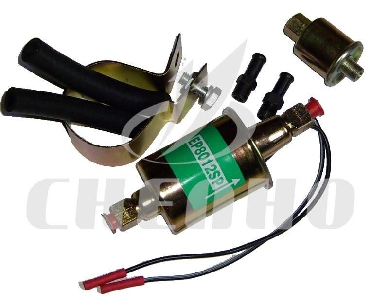 12V Universal Electric Fuel <font><b>Pump</b></font> Carburetor E8012S 5-9 PSI Cars Trucks Tractors E-8012S