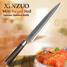 XINZUO Sashimi knife 2 layers VG10 steel sushi knife 8 9 5 10 inch stainless steel
