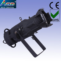 Hot 150 w 3in1 rgb full color led ellipsoidal spot theater professionele gobo projector logo spot stage licht