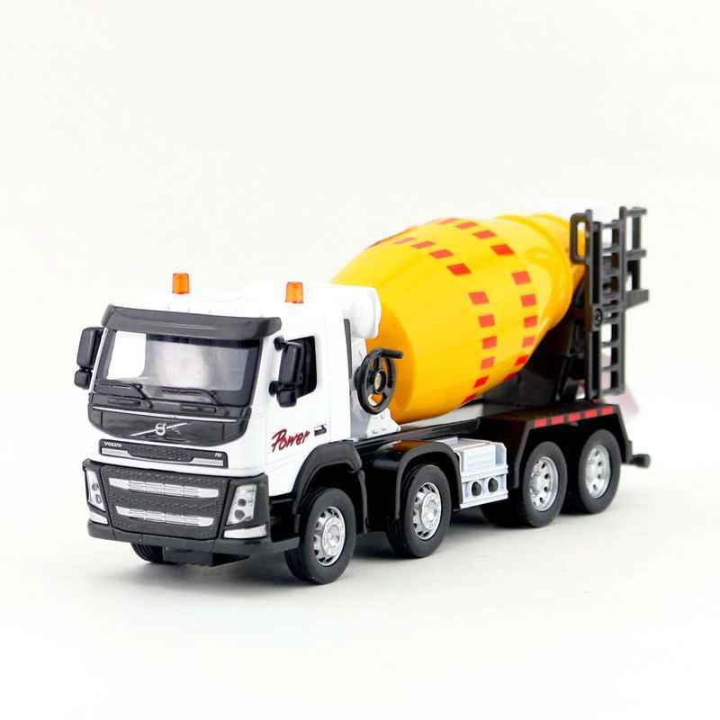 1:50 skala/Diecast Modell/Volvo Betonmischer Lkw Auto/Engineering Spielzeug/Sound & Licht/Pädagogisches sammlung Für Kinder/Geschenk