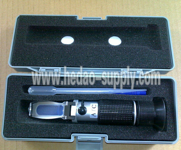 Best supplier Excellent quality Brix Refractometer RHB0-90 with free shipping sugar refractometer