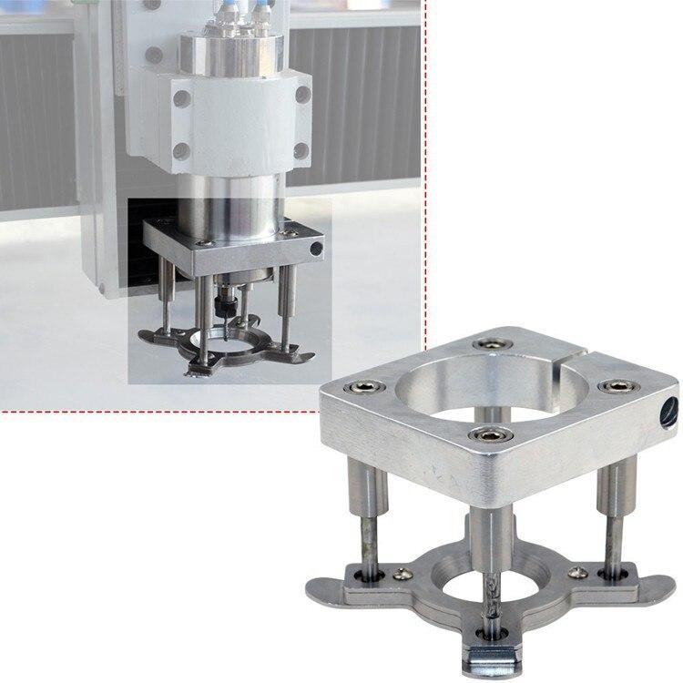 Diamètre 80mm support de broche Pour CNC Routeur CNC Auto Pression Plaque Pour 1.5kw/2.2kw Broche Porte-Pince Plaque
