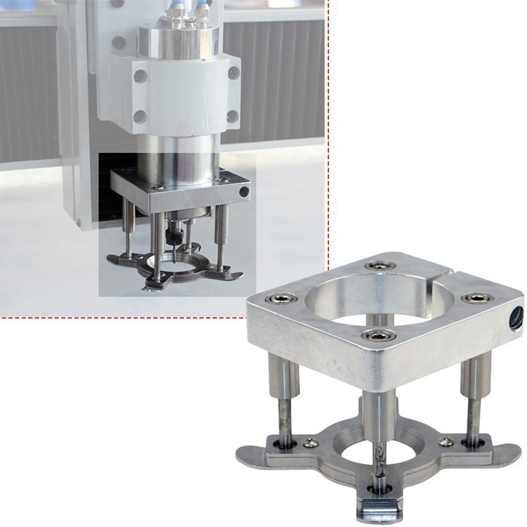 diameter 80mm spindle holder For CNC Router CNC Auto Pressure Plate For 1.5kw/2.2kw Spindle Holder Clamp Plate