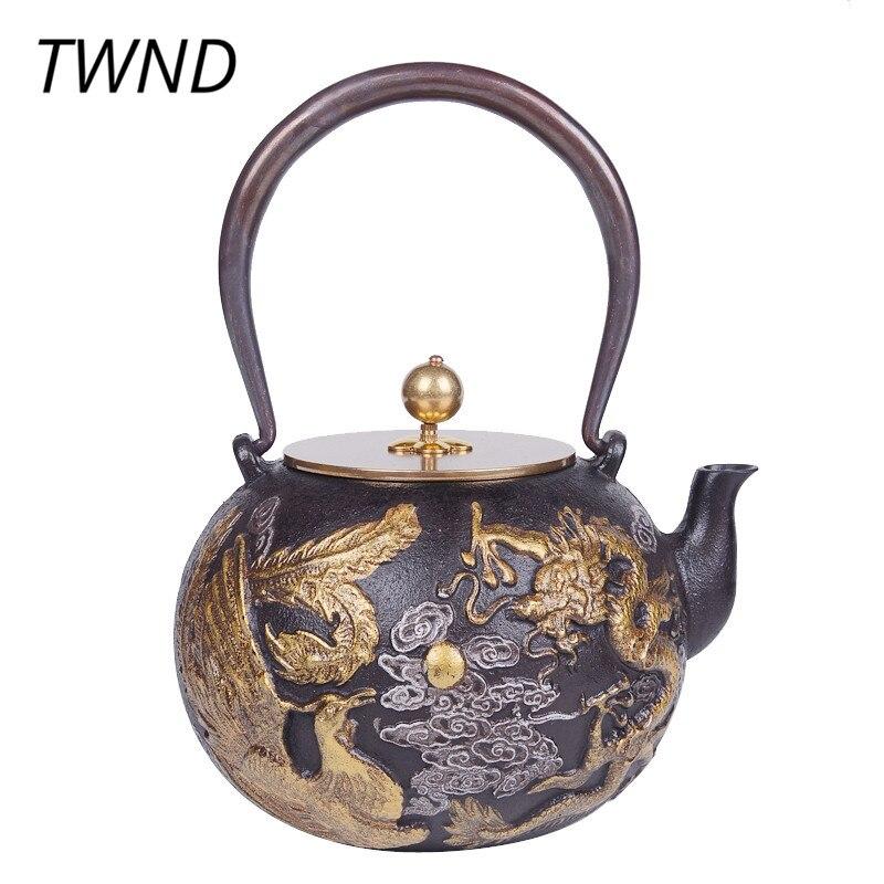 Hot Sale Cast Iron Teapot Japan Style Tea Pot With Filter Metal