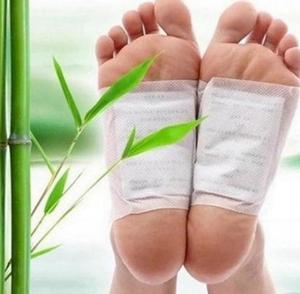Image 2 - 400 adet/(100 çanta (200 adet) yamalar + 200 adet yapıştırıcılar) detoks ayak yamalar pedleri vücut toksinler ayak zayıflama temizlik ayak bakımı aracı