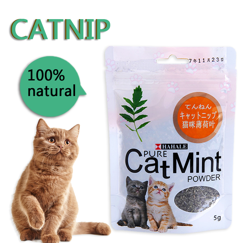 Menthol Flavor Cat Treats Digestive Pet Supplies Promotional Premium Catnip Hot Sale Cat Mint Natural Pet Food Organic Funny Toy 2