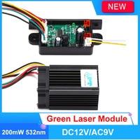 Fat Beam Steady 532nm 200mW Green Laser Module/DIY Laser Stage Lighting