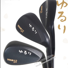Baru mens Klub Golf YURURI TOUR Golf Wedges 52.56.60 Ghrapite Golf poros 3 pcs / loft wedges klub Gratis pengiriman